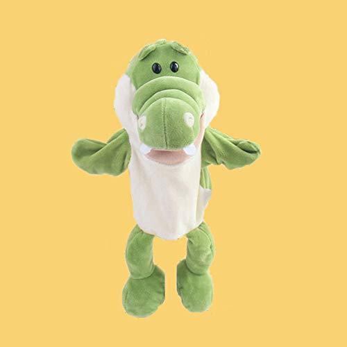 XMxDESiZ - Marioneta de cocodrilo para niños