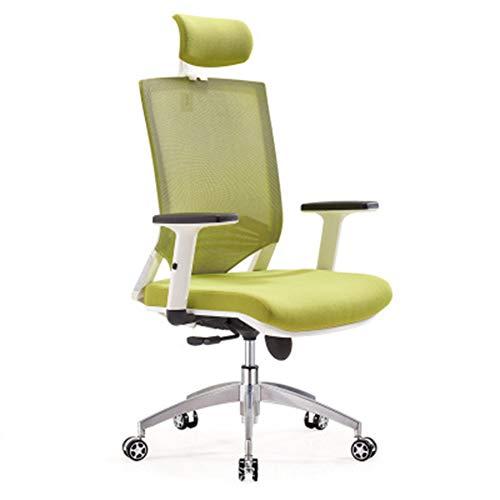 Kokof - Sillas de juegos, sillas de oficina, silla de oficina, silla para ordenador de red, silla ergonómica giratoria, silla de oficina moderna, silla giratoria para el hogar