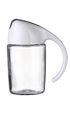Aaprk Dispensador de aceite de oliva con tapa automática, vidrio PP duradero antigoteo, aceite y vinagre, bote de crucero y dispensador para salsa de soja, aceite de coco, vino de cocina 300 ml