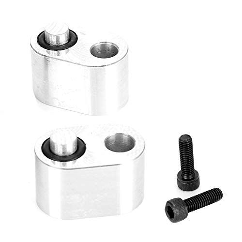 Coolant Block, LS Coolant Crossover Plugs Crossover Tube Adapter Kit Fit for LS2 LS1 LS3 5.3 6.0 LM7 LQ4 1/8 NPT