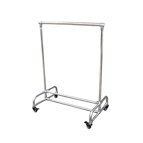 HTZ-M Estantes de Secado/Perchero/percheros con Ruedas - Carga 60 kg, Puede almacenar Chaquetas/Faldas/Trajes