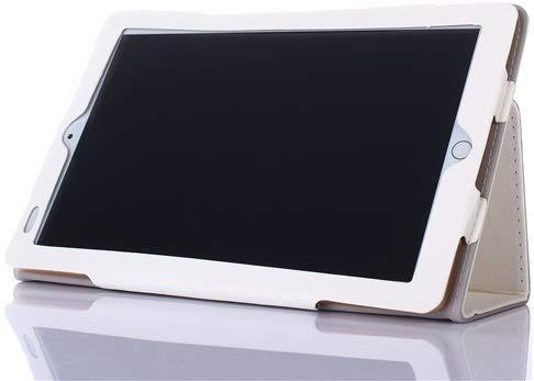 AKNICI Slim Folio Hülle Case Tasche, Kompatibel für Qimaoo T104 Tablet, ZONMAI 10, HMAI Tablet 10, Kivors 10,1 Zoll Tablet PC, Haehne 10,1 Zoll Tablet PC, JINYJIA 10.1 Zoll Tablet PC Etc - Weiß