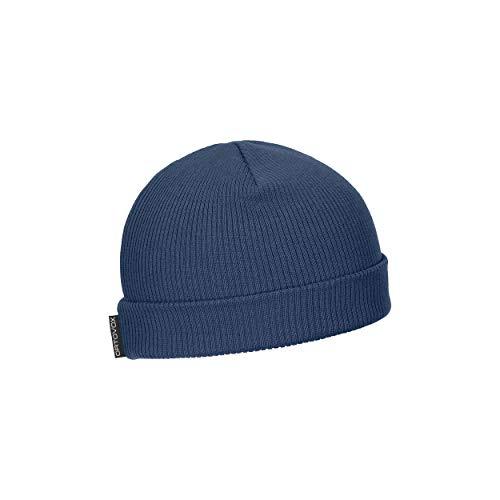 ORTOVOX Unisex-Adult Nicholson Rib Beanie Hat, Night Blue