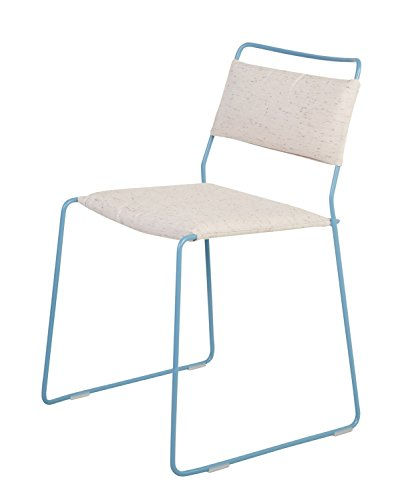 OK Design One Wire Chaise Bleu – Blanc – 2R – Rouge, Rasmus Fasting