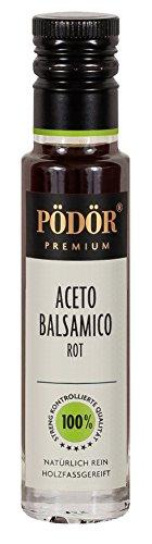 PÖDÖR - Aceto Balsamico Rot 100 ml