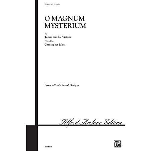 O Magnum Mysterium - By Toms Luis de Victoria / ed. Christopher Johns