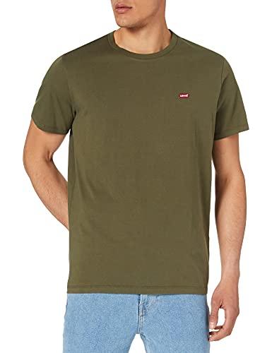 Levi's SS Original Hm tee Camiseta, Olive Night, XXL para Hombre 🔥