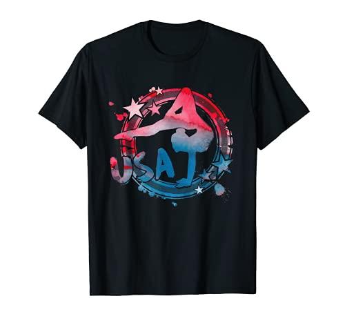 Gymnastics USA American Support Team 2021 Athlete Gymnast T-Shirt