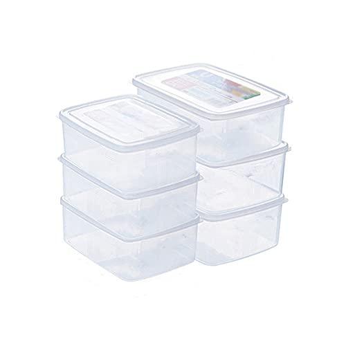 Scatole portaoggetti per frigorifero, scatole per alimenti freschi, scatole per gnocchi di uova, scatole per alimenti, set di contenitori per alimenti, contenitori per alimenti da cucina, scatole di