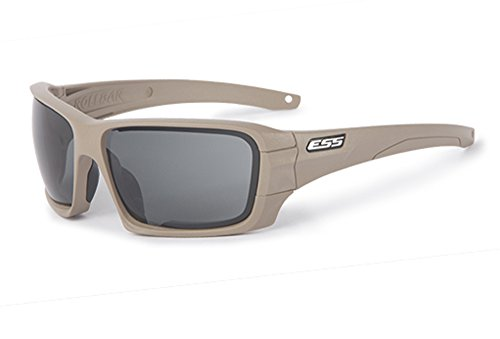 Safety Glasses, Tan, Rollbar Series, Scratch-Resistant