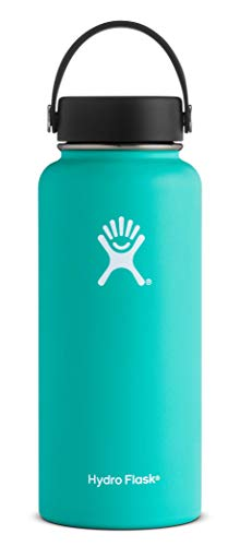 Hydro Flask Mouth 32 oz. Wide Water Bottle, (946 ml), Mint