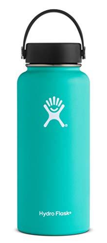 Hydro Flask W32TS435 Mouth 32 oz. Wide Water Bottle, (946 ml), Mint