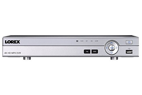 Lorex DV9081 HD MPX 4K Security System DVR - 8 Channel with 1TB Hard Drive