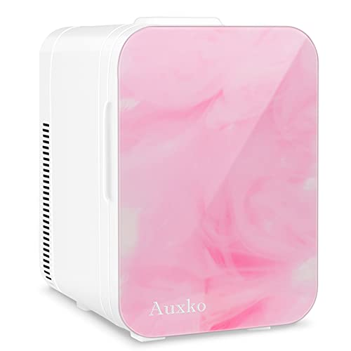 nevera rosa de la marca AUXKO