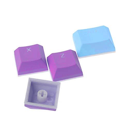 Translucent Double Shot PBT 104 KeyCaps Retroiluminado para el Interruptor de Teclado Cherry MX PBT Keycaps Doble Disparo Backlit Keycaps Conjunto de Juegos Mecánicos Teclado