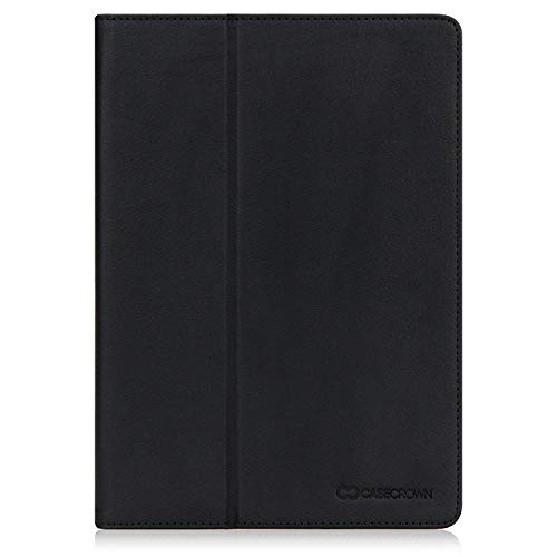 New iPad 2018/2017 9.7 inch Case, CaseCrown Bold Standby Pro Case (Black) Multi-Angle Viewing Stand