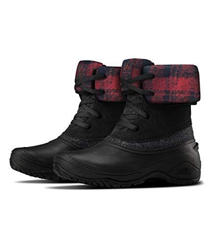 The North Face Women's Shellista II Roll-Down Winter Boot, TNF Black/TNF Black, 9.5