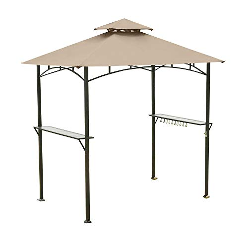 Garden Winds Replacement Canopy for Grill Shelter L-GZ238PST-11,...