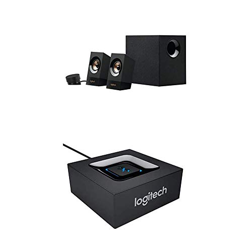 Logitech Z533 Multimedia Lautsprechersystem+Logitech Bluetooth Audio Adapter