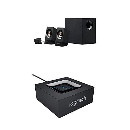 Logitech Z533 Multimedia Lautsprechersystem+Logitech Bluetooth Audio Adapter