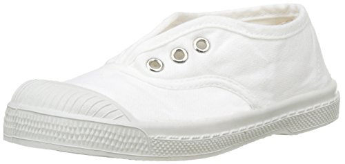 Bensimon Tennis Elly, Sneaker Unisex-Bambini, Bianco (Blanc), 27 EU