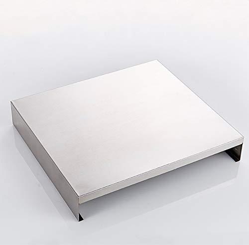 Tablette de la cuisinière à induction, étagère de cuisine en acier inoxydable 304, couvercle de cuisinière à gaz, support de rangement pour le matériel de cuisson sur la table de cuisson, Quantité: x1
