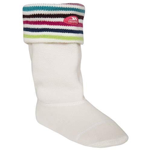 Trespass - Calcetines para botas de agua modelo Frankie para niños (Pequeña (S))...