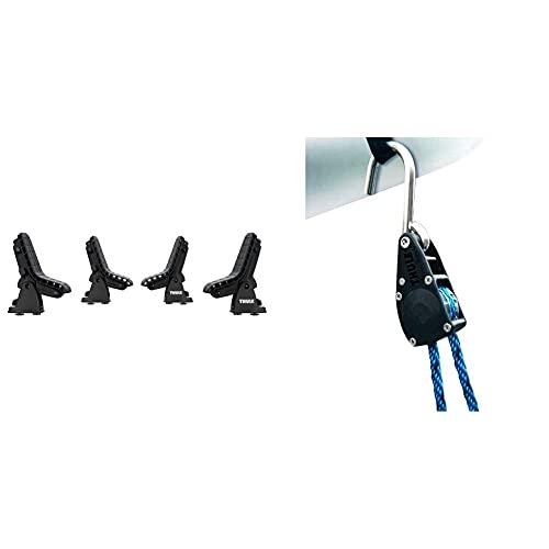 Thule 895000 DockGrip & 838000 Quickdraw, strapazierfähiger Schnellspanner