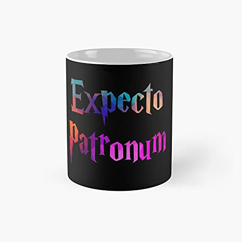 Expecto Patronum Classic Mug - 11 Ounce For Coffee, Tea, Chocolate Or Latte.