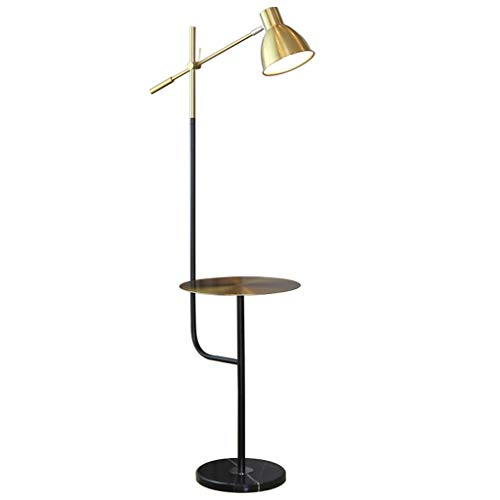 NYKK Lámpara de pie Lámpara de pie de latón Creativa, Sala de Estar, lámpara de Mesa, lámpara de pie Lámpara de Piso