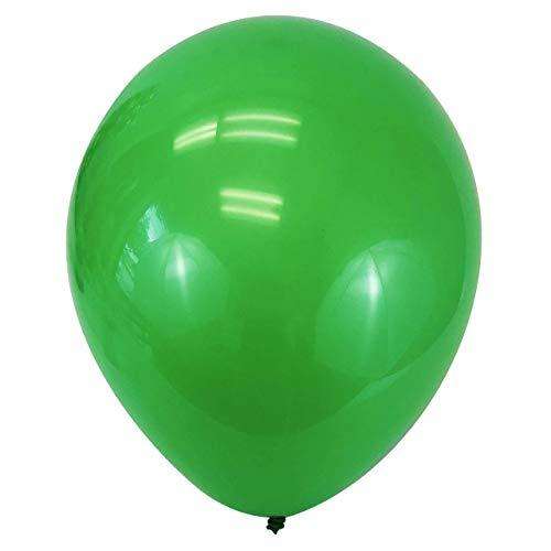 "Allgala 100ct 12"" Helium Grade Premium Latex Balloons-Green-BL52007"
