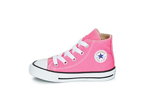 Converse Chuck Taylor All Star High Top Infant Shoes Pink 10 Toddler