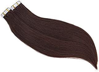 2.5g/pcs 40pcs/set Skin Weft Tape in Human Hair Extensions Invisible Glue in Hair Extensions Human Hair Many colors (16