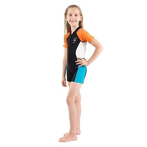 seavenger Kids 2mm UV–Trajes de natación para Colorful Shorty