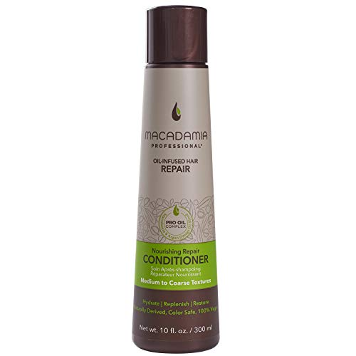 Macadamia Nourishing Moisture - acondicionadores (Mujeres, Profesional, Argan oil, Avocado oil, After shampooing, apply to hair, starting at the ends and working your way up to the scalp. Leave in)