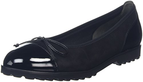 Gabor Shoes Gabor Shoes 53.100 Damen Geschlossene Ballerinas, Schwarz (Schwarz 17), 38 EU (5 Damen UK)