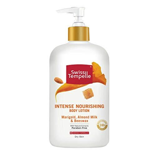 Swiss Tempelle Body Lotion - Intense Nourishing, Beeswax, Marigold & Almond Milk, 250 ml