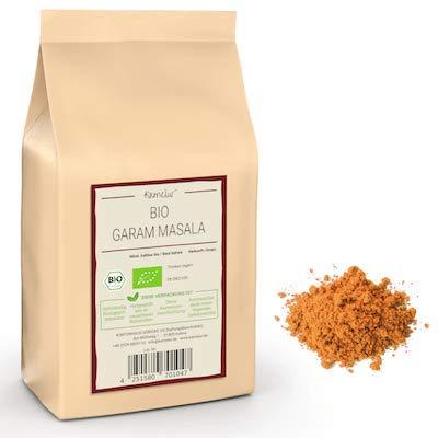 250g BIO Garam Masala - miscela di spezie organiche indiane, intensamente aromatiche e senza additivi - in confezione biodegradabile