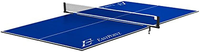 EastPoint Sports Ping Pong Conversion Top, Foldable Table Tennis Topper, Lightweight and Portable, Zero Assembly Required, Blue