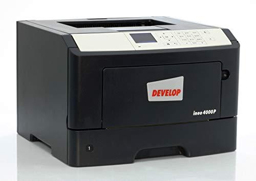 Konika Minolta Develop Ineo 4000P Laserdrucker mit Duplex und Netzwerk LAN gebraucht, Kabel:ohne Kabel