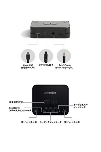 31PPS90vItL-Aftershokzのテレビ用 骨伝導ワイヤレスヘッドホン(AS801)をレビュー!TVでもPCでもすぐ使えて便利