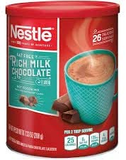 NESTLE HOT COCOA Mix Fat Free Rich Milk Chocolate Flavor 7 33 Oz Pack of 2 product image