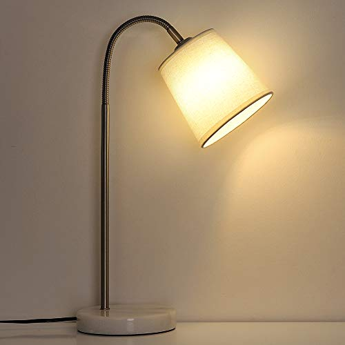 Lámparas de escritorio modernas, lámpara de noche con cuello de...