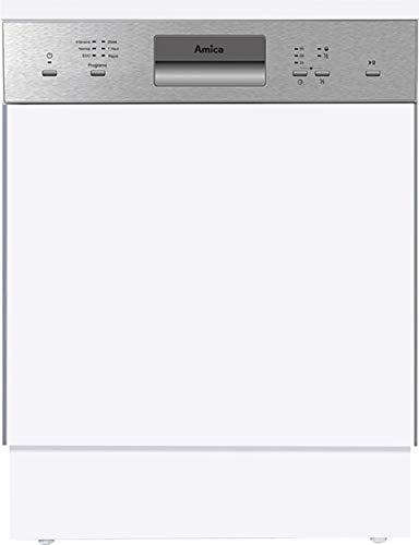 Amica EGSP 14696 E Spülmaschine Integrierbar 14 Stellen A++ - Spülmaschinen (Integrierbar, Gesamtgröße (60 cm), Edelstahl, Knöpfe, 1,5 m, 1,5 m)