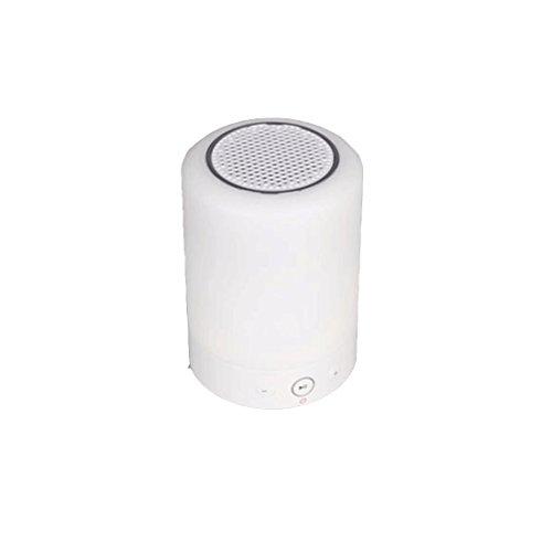 Veilleuse ZQ FM Radio Creative Petite Lampe de Table sans Fil Bluetooth Audio Lampe Smart Bed Night Night Touch Carte Cadeau d'anniversaire