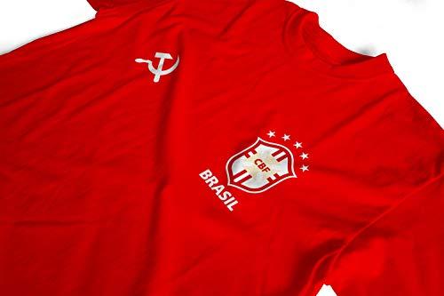 Camiseta Brasil Comunista - 100% algodão (P)