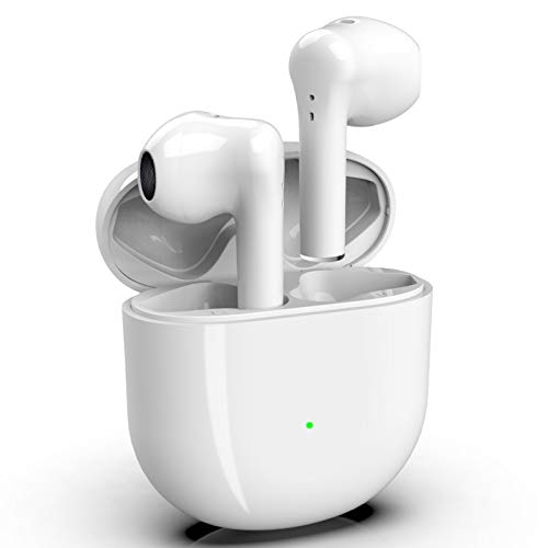 Auricolari Bluetooth 5.0 Cuffie Bluetooth Riduzione attiva del rumore Auricolari in-Ear Stereo 3D Cuffie Sportive Impermeabili (con 24 ore di riproduzione) per Apple/IPhone/Airpods Pro/Samsung