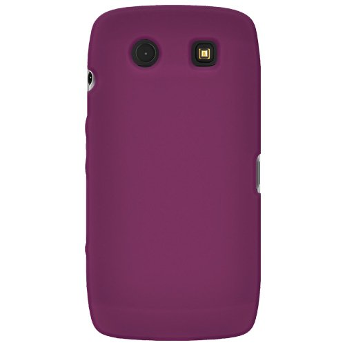 Amzer Silicone Skin Jelly Case for BlackBerry Torch 9850/9860 - Purple