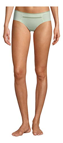 Calvin Klein Women's Invisibles with Mesh Hipster Panty, Glowed Up, M