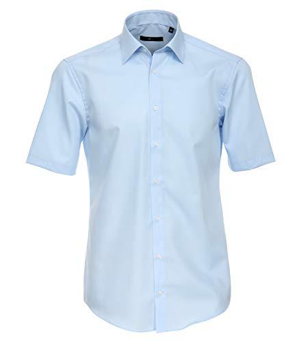Venti 1620, Camicia formale a maniche corte Uomo, Azul (Blau 102), 40